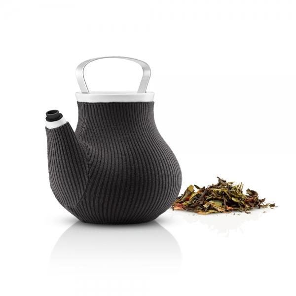 Чайник заварочный my big tea в вязаном чехле 1,5 л серый