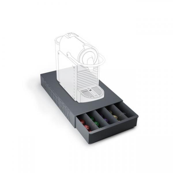 Ящик для кофейных капсул coffee box чёрный