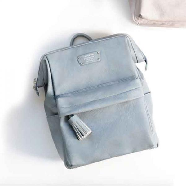 Женский рюкзак CRATTE MINI OFFICE BACKPACK голубой