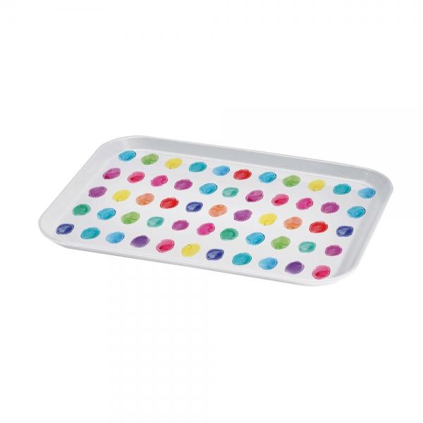 Поднос сервировочный aquarell spots