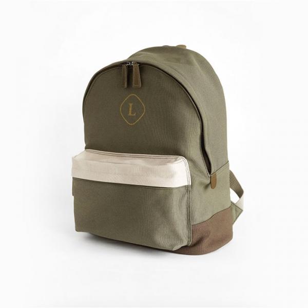 Городской рюкзак Canvas Backpack хаки