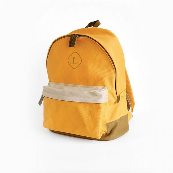 Городской рюкзак Canvas Backpack желтый