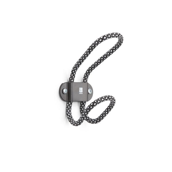Крючок настенный lasso чёрный