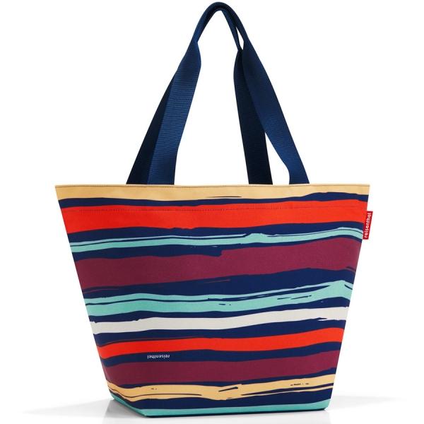 Сумка shopper m artist stripes