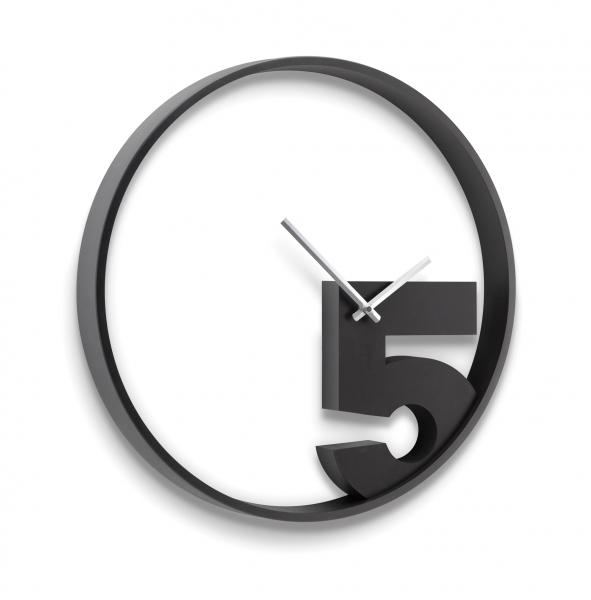 Часы настенные take 5 черные