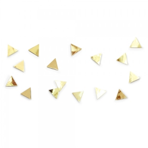 Декор для стен confetti triangles латунь