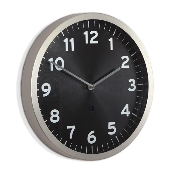 Настенные часы anytime чёрные