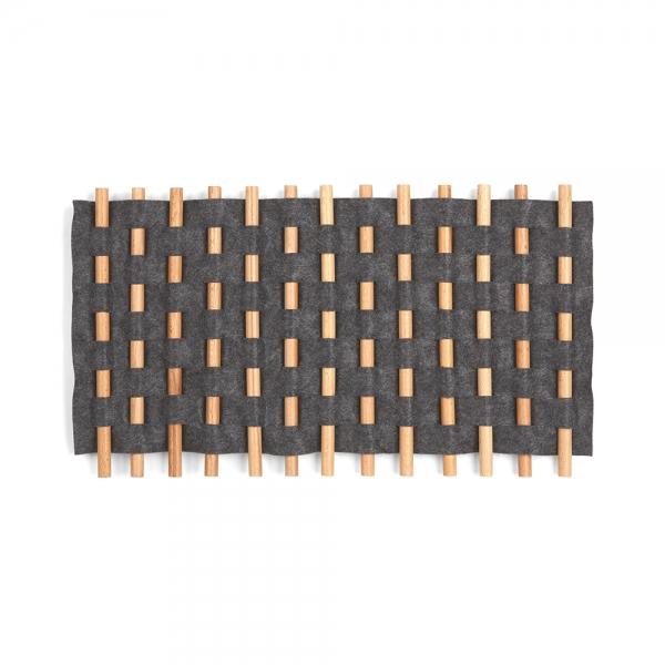 Декор для стен looma  21x12 чёрный