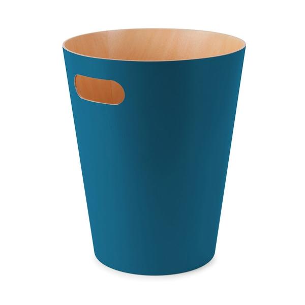 Корзина для мусора woodrow сине-зелёная