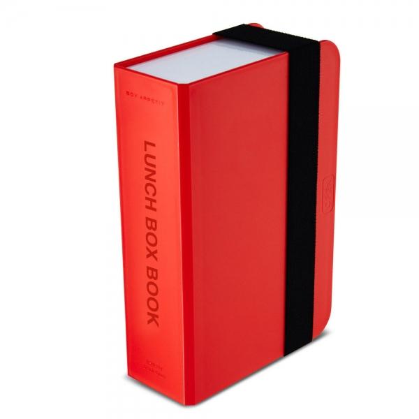 Ланч-бокс box book красный