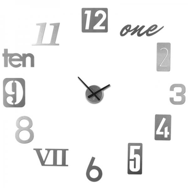 Часы настенные numbra алюминиевые