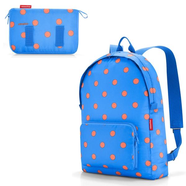Рюкзак складной mini maxi azure dots