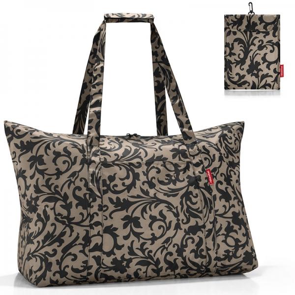 Сумка складная mini maxi travelbag baroque taupe