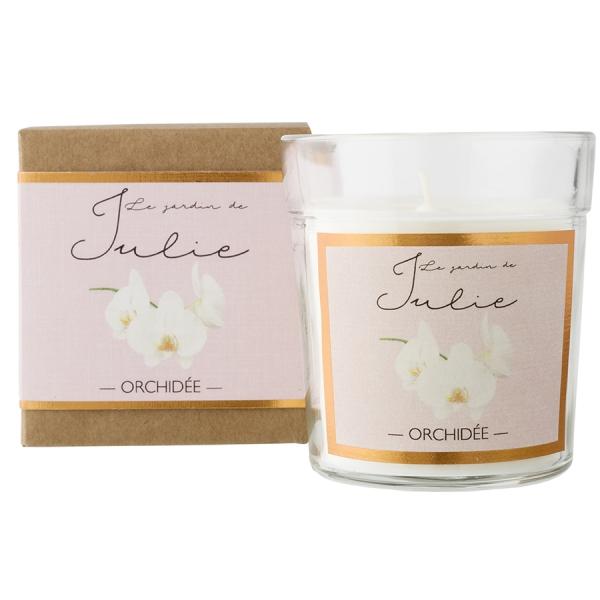 Свеча ароматическая «орхидея»