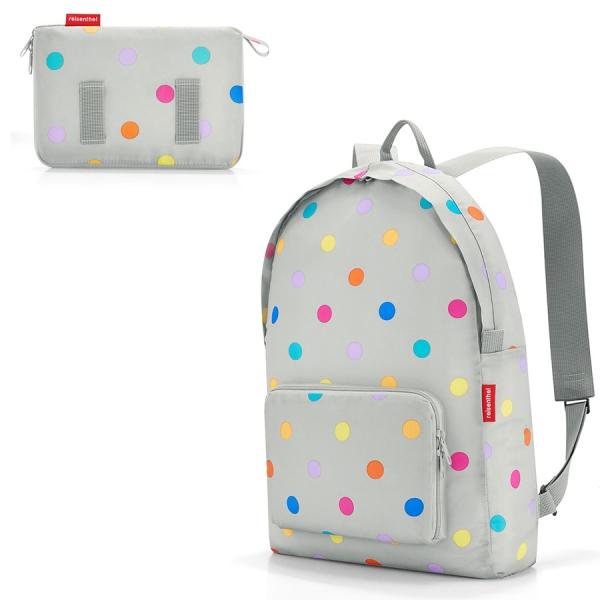 Рюкзак складной mini maxi stonegrey dots