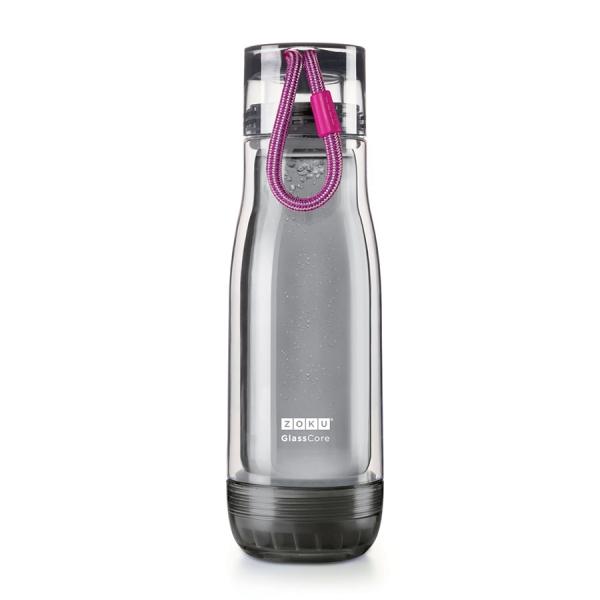 Бутылка zoku active 480 мл фиолетовая