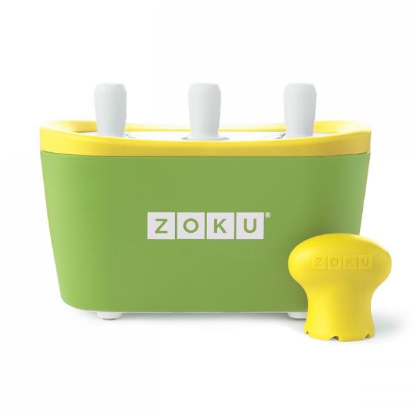 Набор для приготовления мороженого triple quick pop maker зеленый