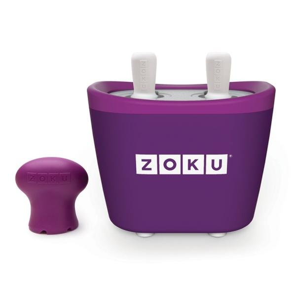 Набор для приготовления мороженого duo quick pop maker фиолетовый