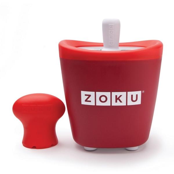 Набор для приготовления мороженого single quick pop maker красный