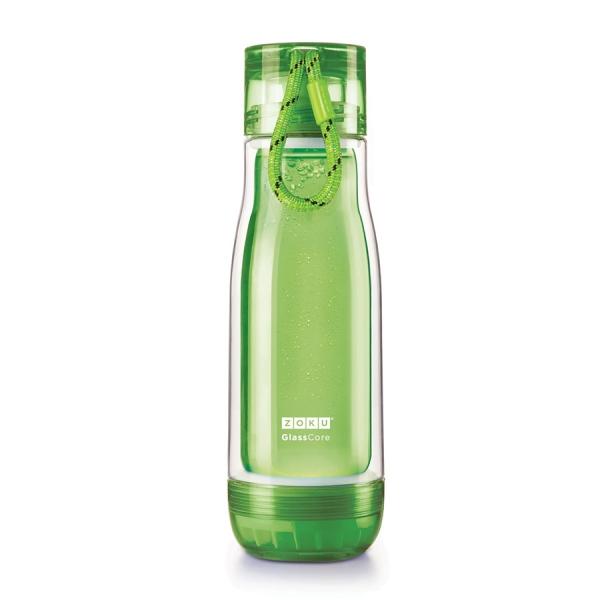 Бутылка zoku 480 мл зеленая