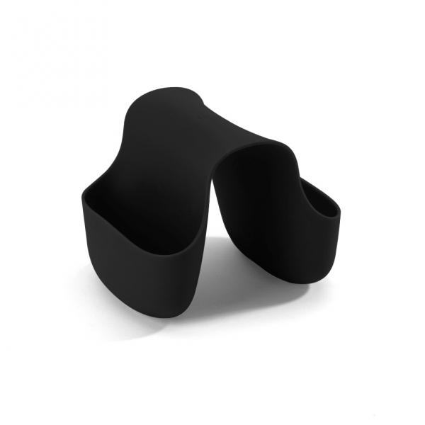 Органайзер для раковины saddle чёрный