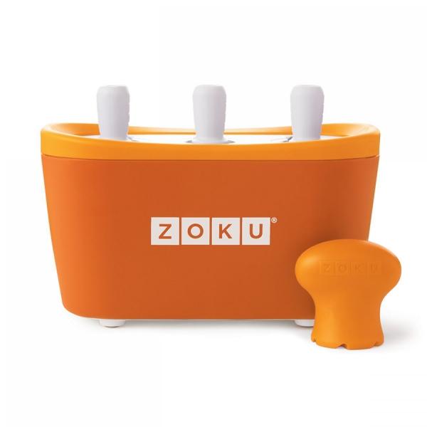 Набор для приготовления мороженого triple quick pop maker оранжевый