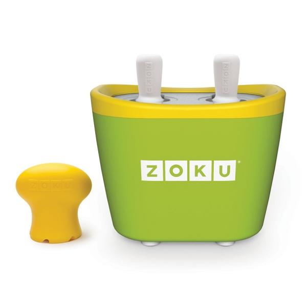 Набор для приготовления мороженого duo quick pop maker зеленый