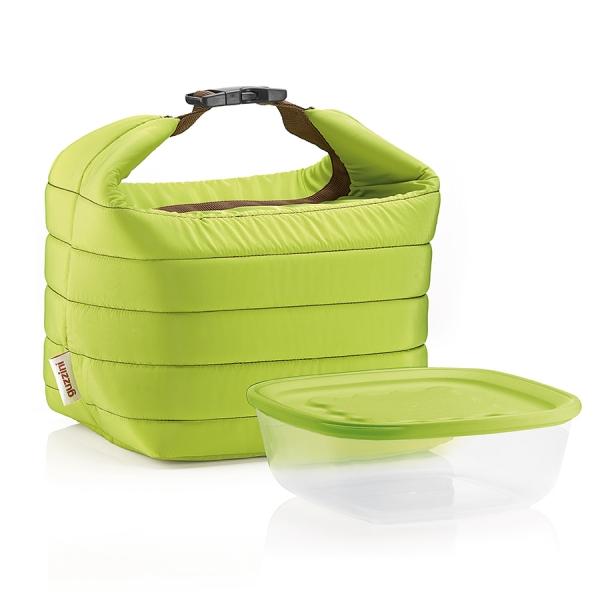 Набор термосумка+контейнер handy зеленый