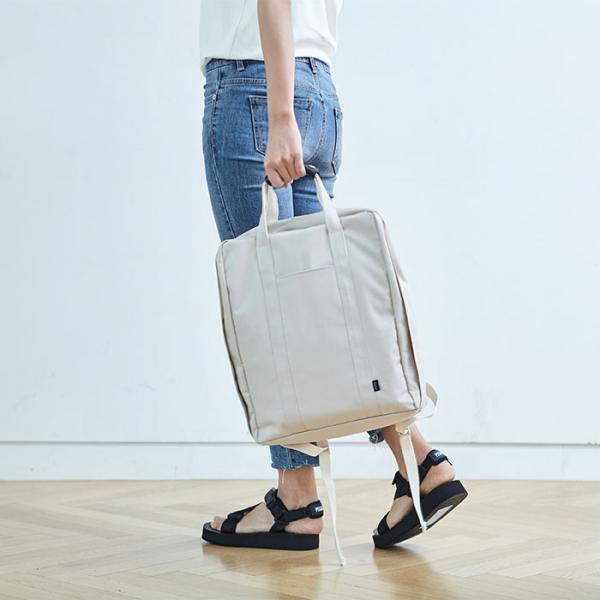 Городской рюкзак COMPACT TRUNK BACKPACK ITHINKSO бежевый