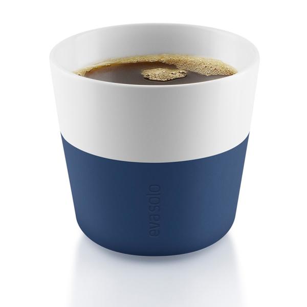 Чашки для лунго 2 шт. тёмно-синие