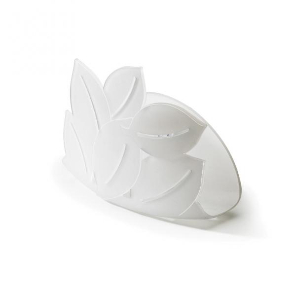 Держатель для губки foliage белый