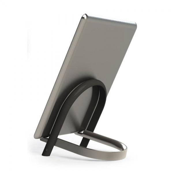 Подставка для планшета udock никель
