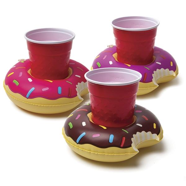 Набор подстаканников для бассейна donut 3 шт