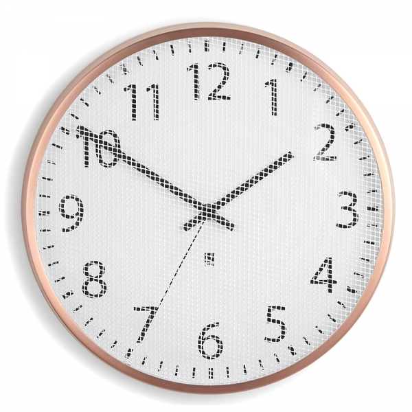 Часы настенные perftime медь