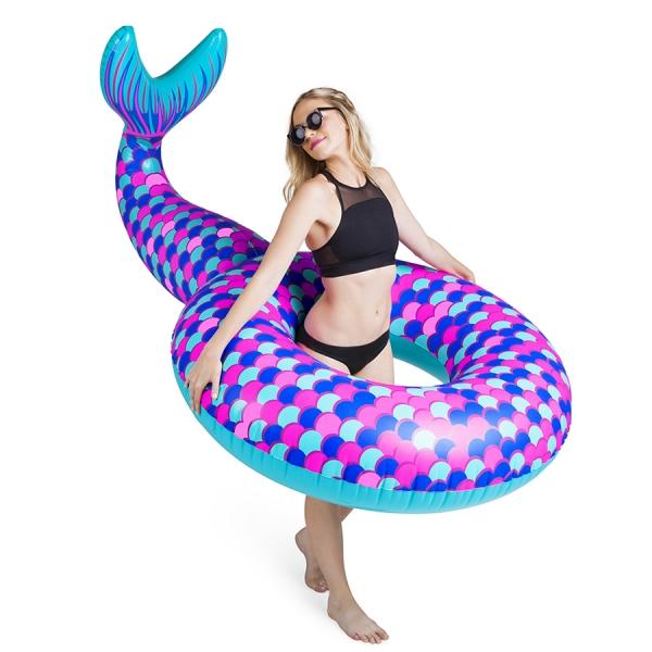 Круг надувной mermaid tail