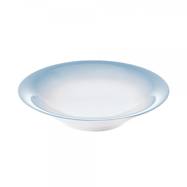 Тарелка для супа grace голубая