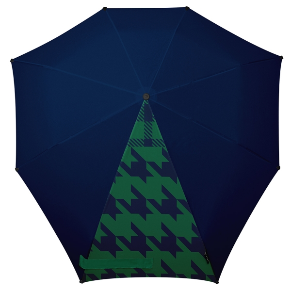 Зонт-автомат senz° peeking checks