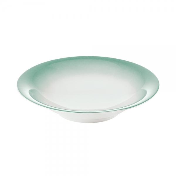Тарелка для супа grace малахитово-зеленая