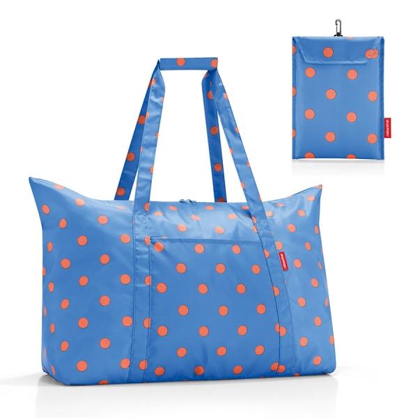 Сумка складная mini maxi travelbag azure dots