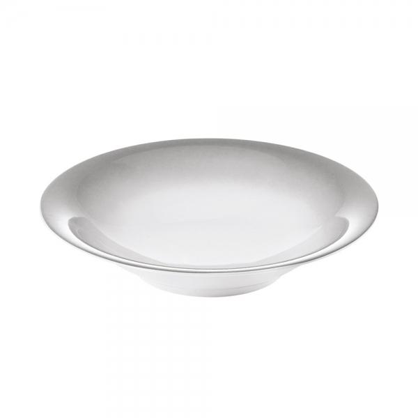 Тарелка для супа grace серая