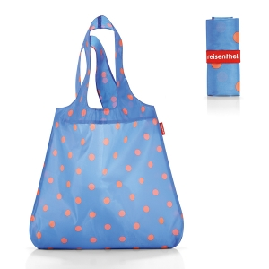 Сумка складная mini maxi shopper azure dots