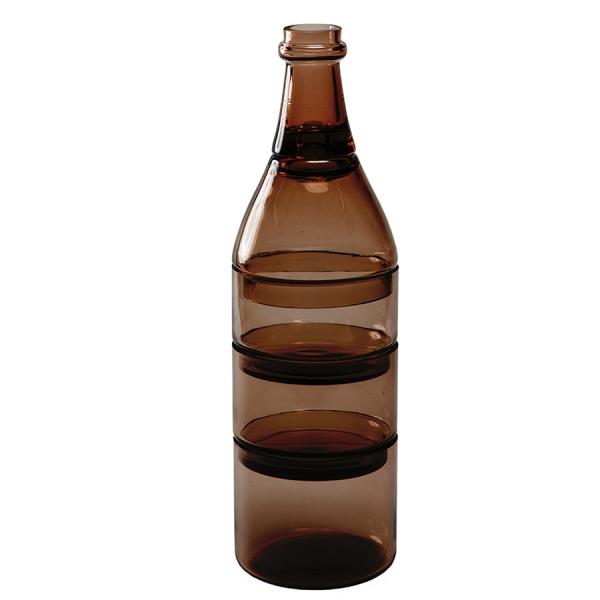 Набор из 5-ти ёмкостей для аперитива l'apro коричневый