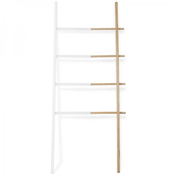 Вешалка-лестница hub белая