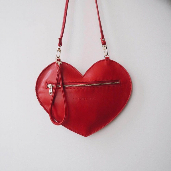 Сумочка сердце