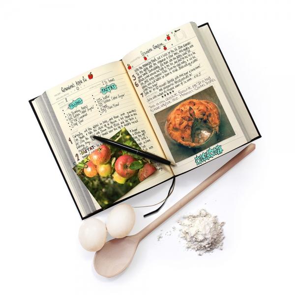 Семейная кулинарная книга my family чёрная