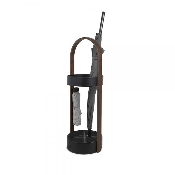Подставка для зонтов hub / bellwood чёрный-орех