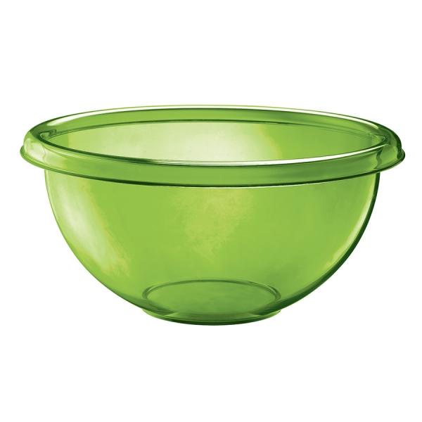 Миска для салата happy hour 7 л зеленая