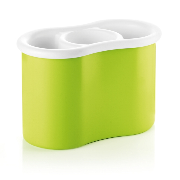 Сушилка для столовых приборов forme casa зеленая