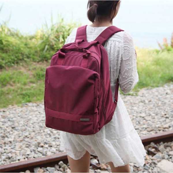 Рюкзак-органайзер для путешествий backpack for anytime винный