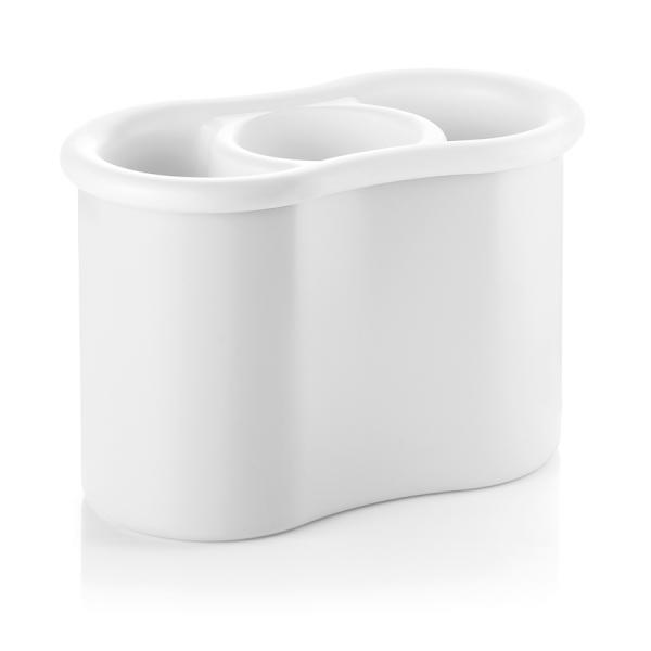 Сушилка для столовых приборов forme casa белая